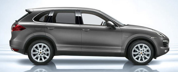 Porsche Cayenne primeste o noua versiune diesel
