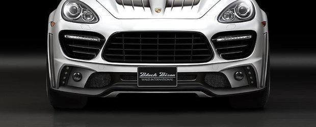 Porsche Cayenne primeste tratamentul Black Bison pentru SEMA 2013
