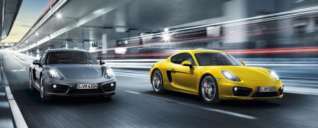 Porsche Cayman, disponibil in Romania. Afla cat costa!