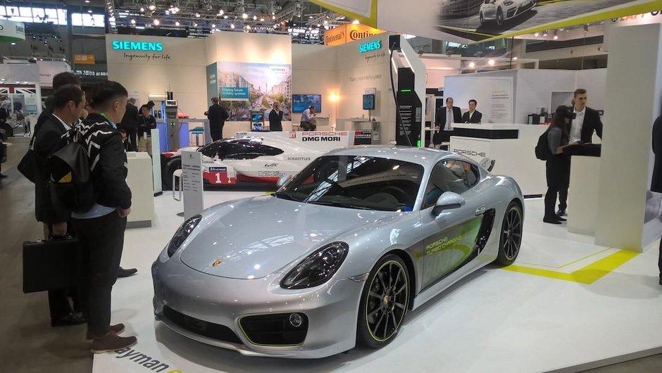 Porsche Cayman E-Volution - Prima poza