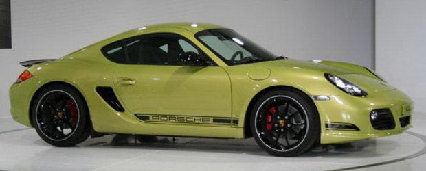 Porsche Cayman R la LA Auto Show - Mai puternic, mai usor, mai rapid!