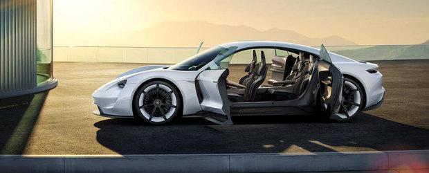 Porsche detaliaza conceptul Mission E in patru noi materiale video