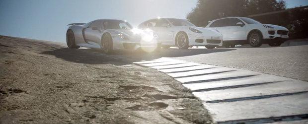 Porsche ii multumeste electricitatii in ultimul spot TV