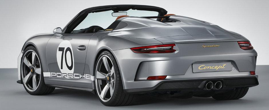 Porsche isi pune fanii pe jar cu cel mai nou concept SPEEDSTER. Are sanse mari sa intre in productie