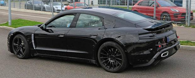 Porsche isi pune toata lumea in cap. POZE SPION cu noua masina scoasa de germani in teste