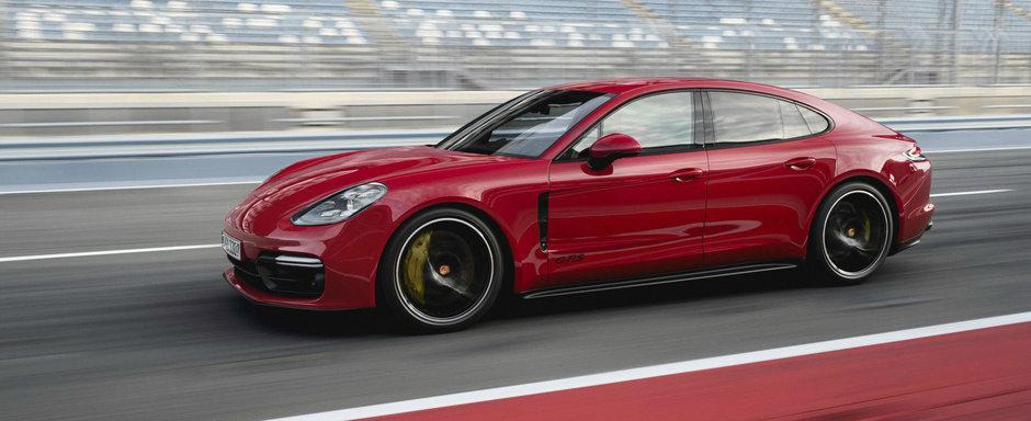 Porsche iti vinde un sedan de lux care poate atinge 293 de km/h. Costa de la 138.493 de euro in sus