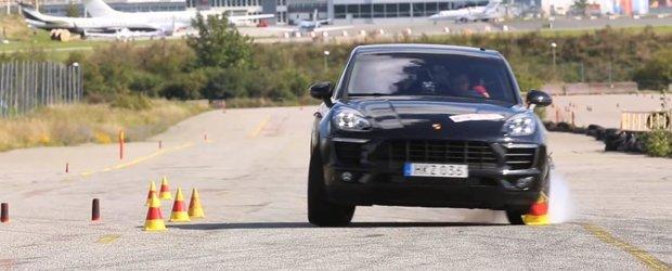 Porsche Macan esueaza la 'Testul Elanului'