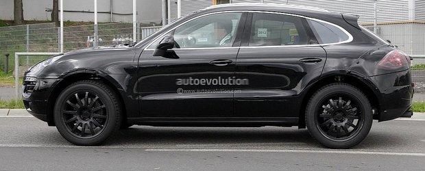 Porsche Macan, un SUV mai mic decat Cayenne, surprins in teste