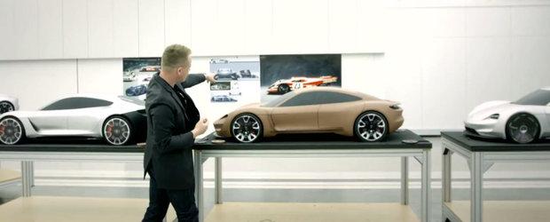Porsche ne arata cum a prins viata conceptul electric Mission E