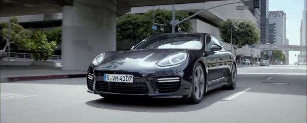 Porsche ne arata dubla personalitate a noului Panamera