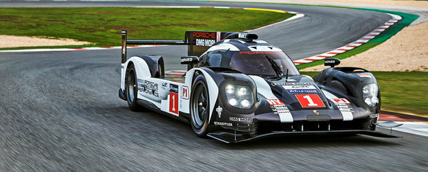Porsche ne dezvaluie noul 919 Hybrid, monopostul care promite sa castige anduranta