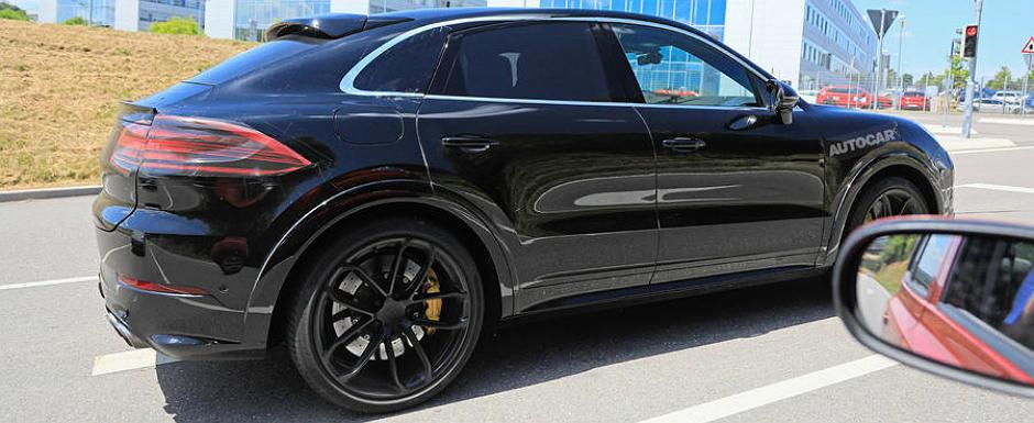 Porsche nu a glumit cand a spus ca lanseaza un Cayenne Coupe. Asa arata acum rivalul lui Audi Q8 si BMW X6