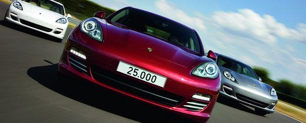 Porsche Panamera a ajuns la 25.000 exemplare construite