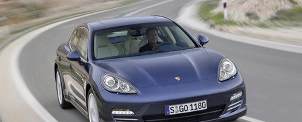 Porsche Panamera acum si mai economic