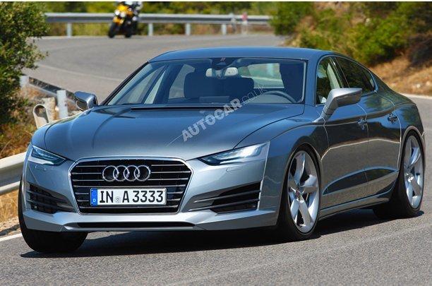 Porsche Panamera are un rival: Audi A9