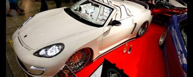 Porsche Panamera Cabrio este un fenomen al tuningului. Momentan!