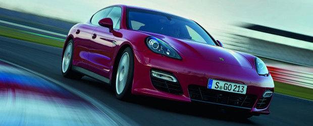 Porsche Panamera GTS - Senzatii sport pentru intreaga familie