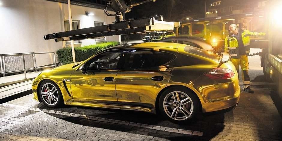 Porsche Panamera infoliat