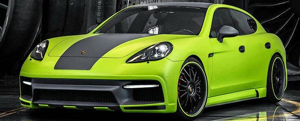 Porsche Panamera, preparat de Regula Tuning