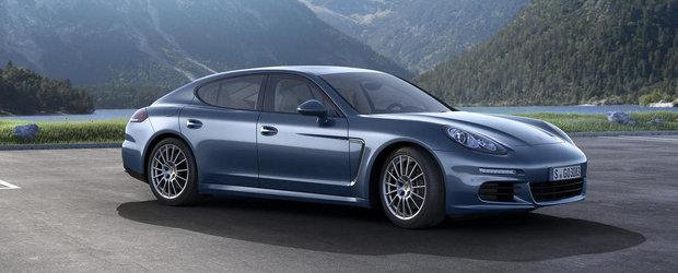 Porsche Panamera primeste un nou V6 diesel de 3.0 litri si 300 cai putere