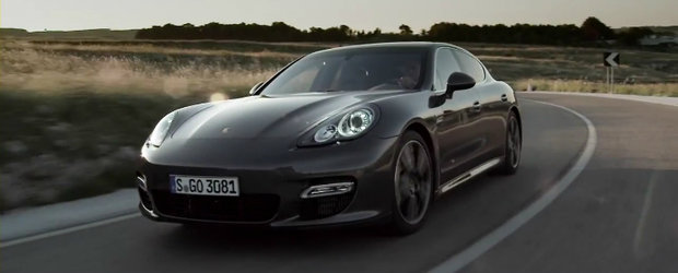 Porsche Panamera Turbo S isi face aparitia in primul video oficial!