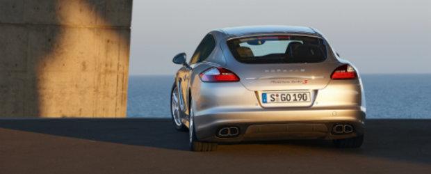 Porsche Panamera Turbo S vine in curand!