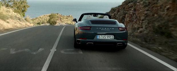 Porsche prezinta in actiune noul 991 Facelift