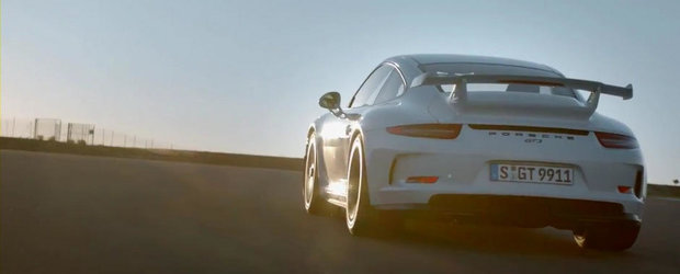 Porsche prezinta in actiune si detaliu noul 911 GT3. VIDEO AICI!