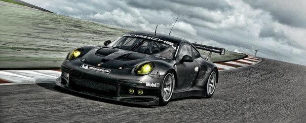 Porsche prezinta in actiune si detaliu noul 911 RSR