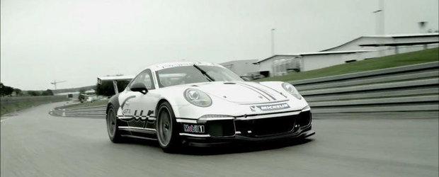 Porsche prezinta in detaliu si actiune noua generatie 911 GT3 Cup