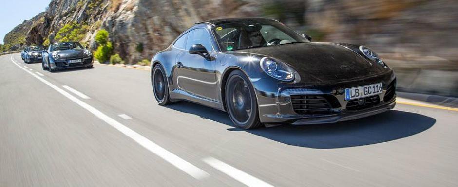 Porsche publica primele imagini oficiale ale noului 991 Facelift