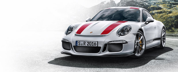 Porsche revine la origini. Noua editie 911 R are motor aspirat si cutie manuala