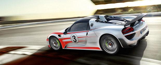 Porsche revizuieste performantele noului 918 Spyder si anunta un 0 - 100 km/h in 2.6 secunde!