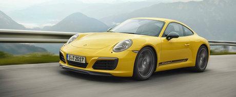 Porsche se tine de cuvant. Nemtii lanseaza Carrera T, o noua masina pentru puristi cu transmisie manuala