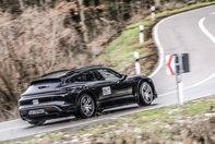 Porsche Taycan Cross Turismo - Primele poze