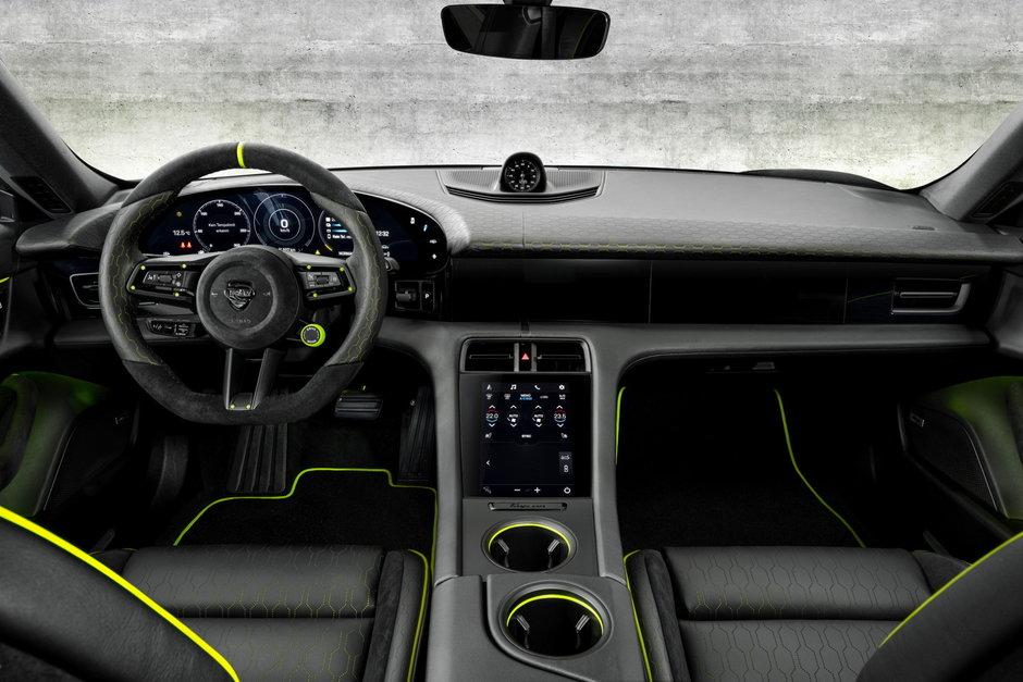 Porsche Taycan de la TechArt