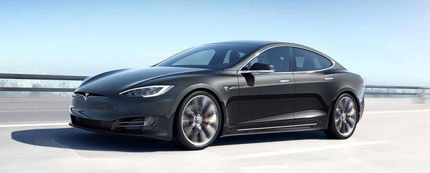 Porsche Taycan doar viseaza la ziua asta. Tesla Model S face acum 627 kilometri cu un singur plin