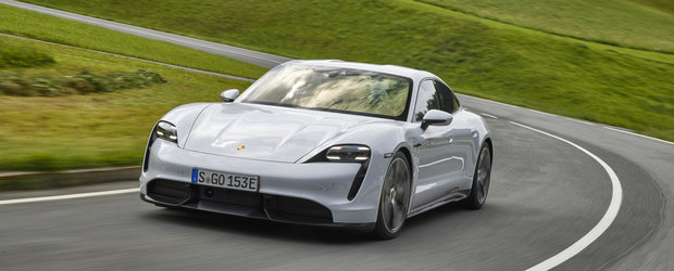 Porsche Taycan, esec rasunator peste Ocean. Autonomia obtinuta de autoritatile din SUA