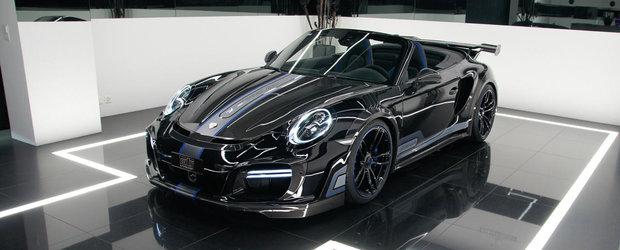 Porsche-ul de 720 de cai aterizeaza la Geneva, multumita celor de la TechArt