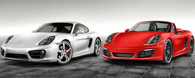 Porsche vinde in Belgia un Boxster / Cayman de 2.7 litri si 211 CP