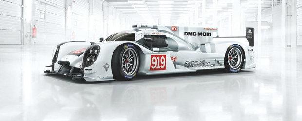 Porsche vrea sa-ti vanda macheta 1:1 a prototipului 919 Hybrid