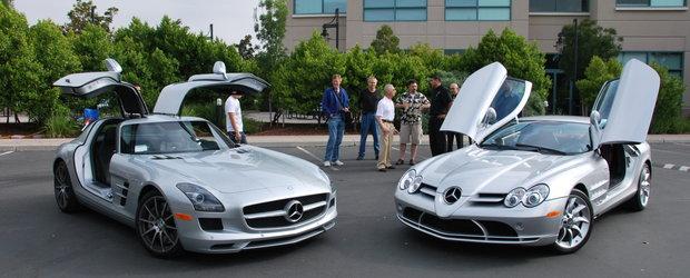 Portret de familie - Mercedes SLS AMG & SLR McLaren