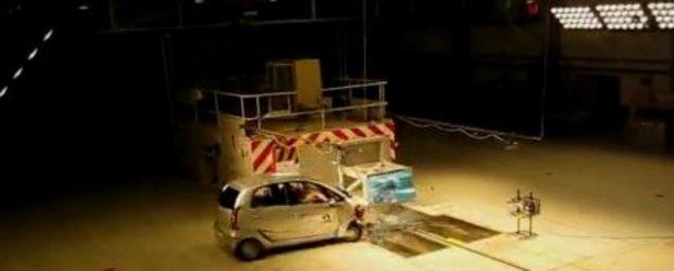 Posibil in Europa! Tata Nano a trecut de crash test-ul MIRA