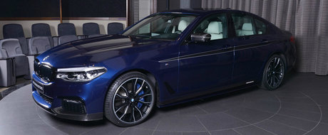 Poti sa-i spui tuning de fabrica. Uite cum arata noul BMW Seria 5 in 'echiparea' M Performance