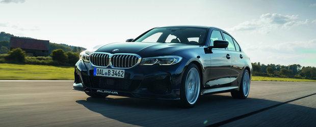 Poti sa uiti de BMW M3. Noul Alpina B3 Sedan lansat cu 462 de cai putere si 303 km/h viteza maxima