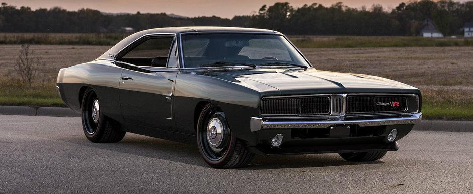 Poti sa uiti de orice masina noua. Acest Charger din '69 reconstruit in 4.700 de ore iti va bantui visele