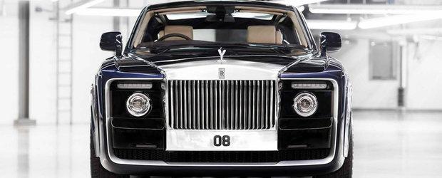 Potrivit zvonurilor, acest Rolls-Royce Sweptail este cea mai scumpa masina noua din istorie