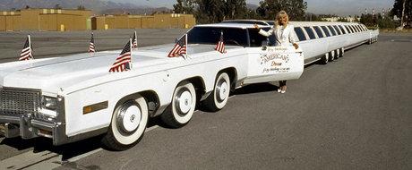 Povestea celei mai lungi masini din lume, care avea jacuzzi si pista de elicopter