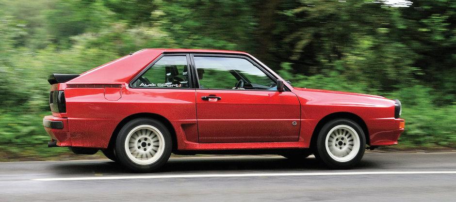 Povestea celui mai bun Audi facut vreodata: Sport Quattro