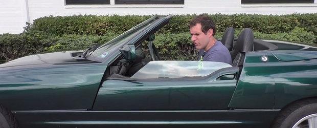 Povestea celui mai ciudat BMW din toate timpurile. Usile lui dispar ca prin minune in caroserie